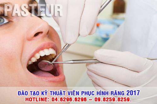 Đào tạo Kỹ thuật viên Phục hình răng năm 2017