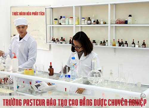 Trường Pasteur đào tạo Cao đẳng Dược chuyên nghiệp
