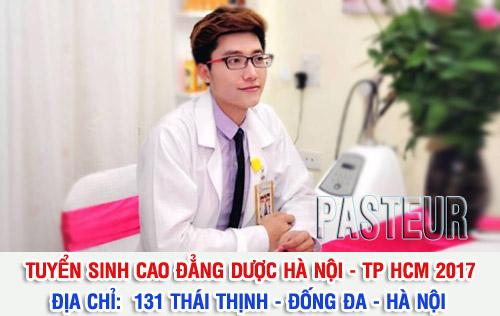 Địa chỉ tuyển sinh Cao đẳng Dược Hà Nội năm 2017