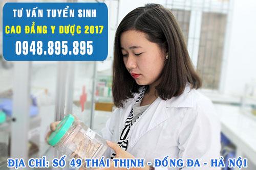 Tuyển sinh Cao đẳng Dược năm 2017