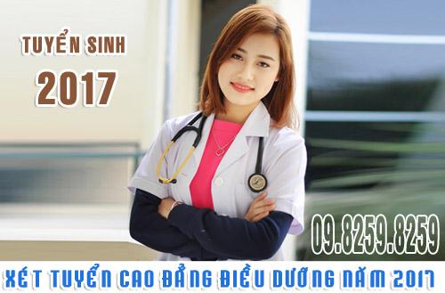 Xét tuyển Cao đẳng Điều dưỡng năm 2017