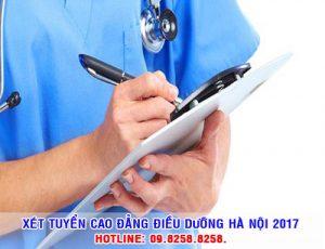 Xét tuyển cao đẳng Điều dưỡng Hà Nội năm 2017
