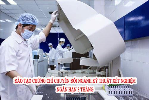 Địa chỉ đào tạo Chứng chỉ chuyển đổi ngành Xét nghiệm tại Hà Nội ở đâu?
