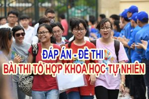 dap-an-bai-thi-khoa-hoc-tu-nhien-thpt-2017