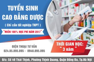Tuyen-sinh-cao-dang-duoc-ha-noi-mien-100%-hoc-phi-nam-2017-1