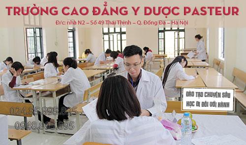 Trường Cao đẳng Y Dược Pasteur tạo dựng thương hiệu uy tín trong giảng dạy