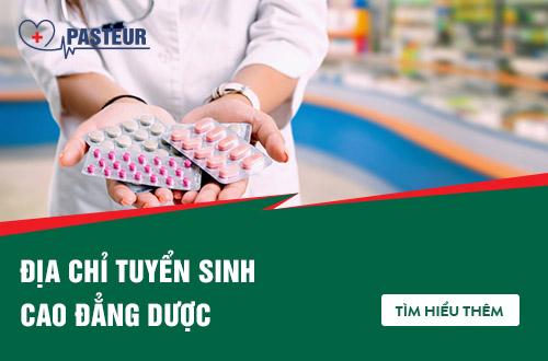 Địa chỉ hồ sơ xét tuyển Cao đẳng Dược tại Hà Nội