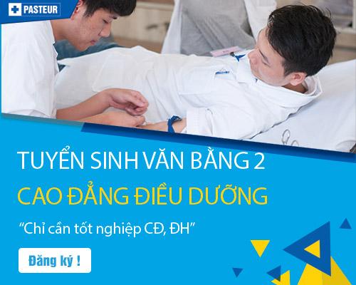 Đăng ký xét tuyển Văn bằng 2 Cao đẳng Điều dưỡng tại Hà Nội dễ dàng