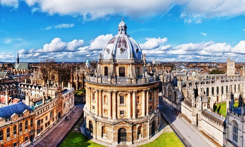 Đại học Oxford đứng đầu bảng xếp hạng Times Higher Education năm 2017