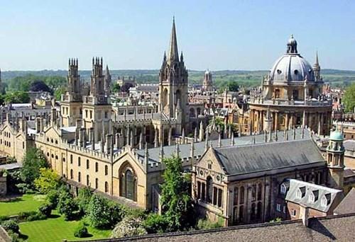 Đại học Oxford đứng đầu bảng xếp hạng Times Higher Education