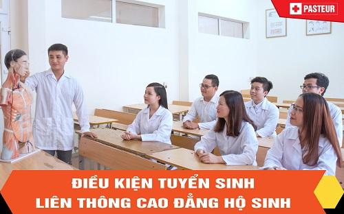 Tuyển sinh liên thông Cao đẳng Hộ sinh Hà Nội 2018