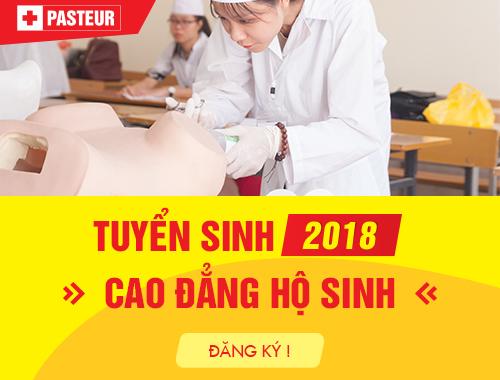Trường Cao đẳng Y Dược Pasteur tuyển sinh Cao đẳng Hộ sinh 2018