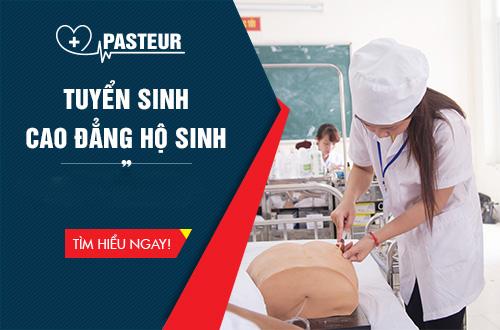 Tuyển sinh Cao đẳng Hộ sinh Hà Nội năm 2018