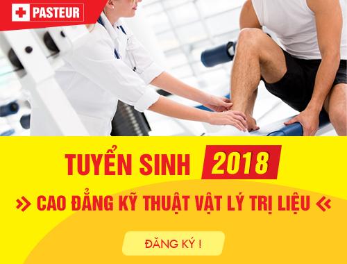 Tuyển sinh Cao đẳng Vật lý trị liệu Hà Nội 2018