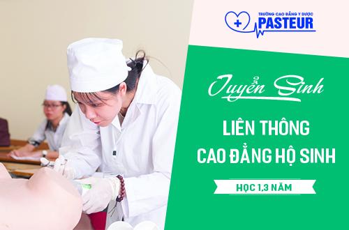 Thời gian học liên thông Cao đẳng Hộ sinh Hà Nội 2018