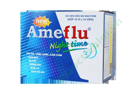 Thuốc Ameflu điều trị cảm cúm thế hệ mới