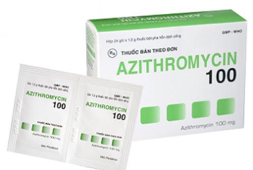 Thuốc kháng sinh azithromycin có thể gây nguy hiểm