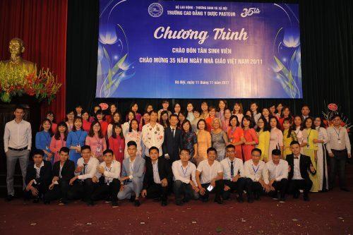 Trường Cao đẳng Y Dược Pasteur chào mừng ngày Hiến chương Nhà giáo Việt Nam