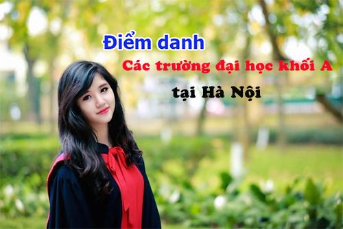 Các trường Đại Học khối A ở Hà Nội