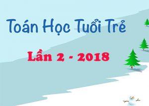 de-thi-thu-thpt-quoc-gia-mon-toan-nam-2018-toan-hoc-tuoi-tre-lan-2