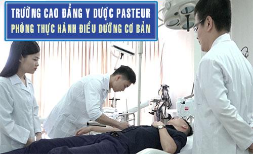Phòng thực hành liên thông Cao đẳng điều dưỡng pasteur