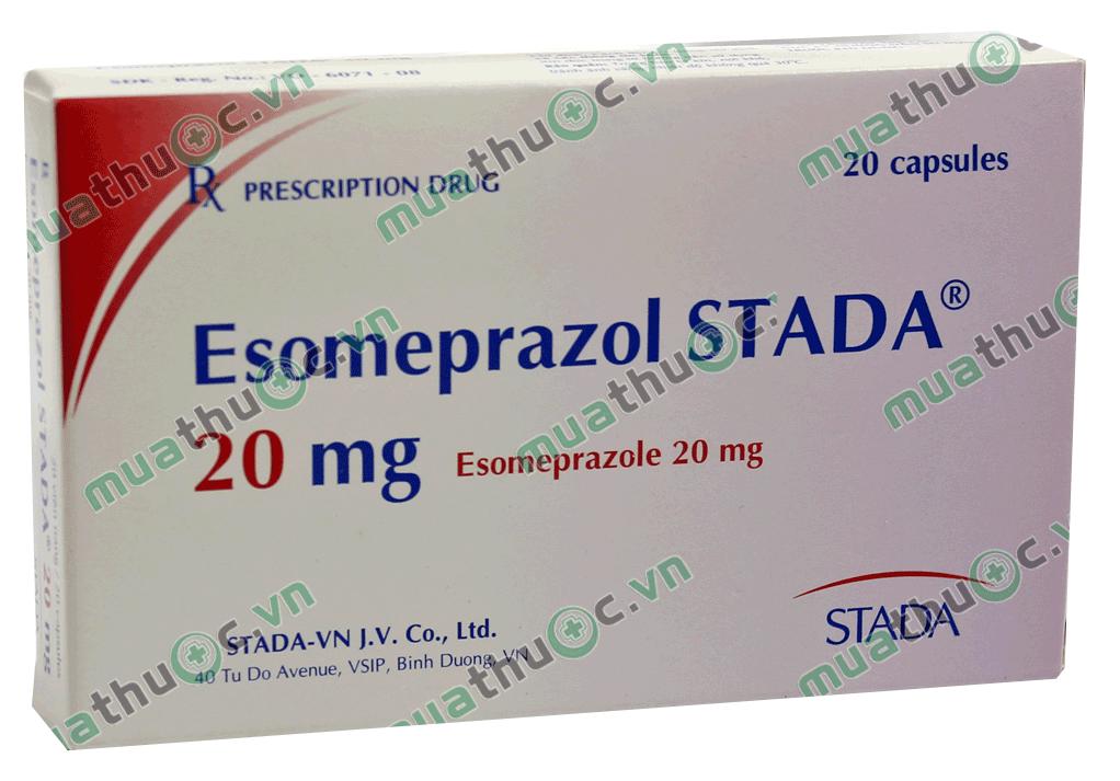 Hướng dẫn sử dụng thuốc điều trị dạ dày Esomeprazole