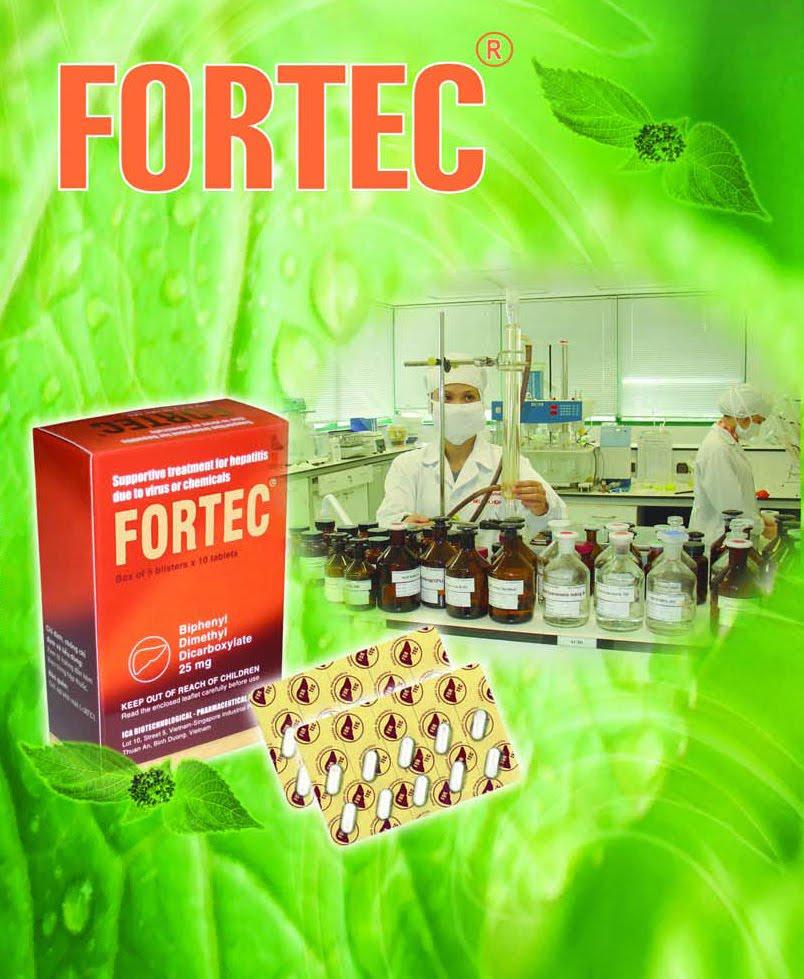 Thuốc bổ gan Fortec