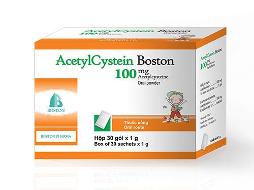 Acetylcystein Dược sĩ hướng dẫn cách sử dụng và liều dùng