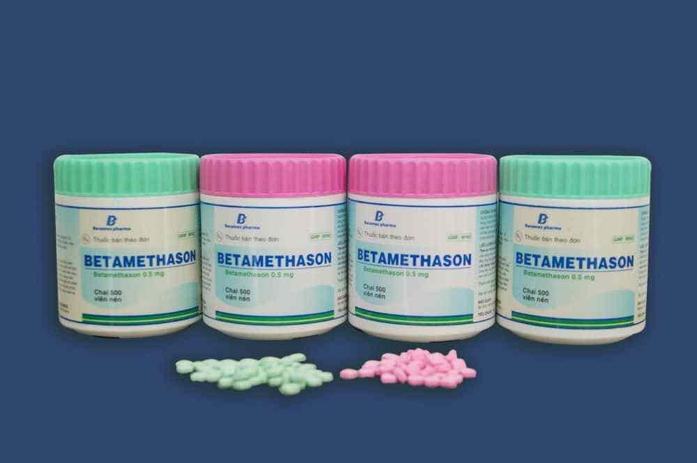 Tìm hiểu tác dụng và liều lượng sử dụng thuốc Betamethason