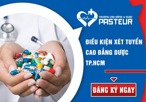 Tuyển Cao đẳng Dược TPHCM năm 2018 nếu tốt nghiệp THPT.