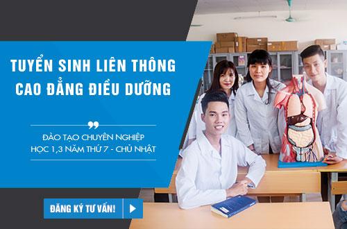 Điều kiện tuyển sinh Liên thông Cao đẳng Điều dưỡng HCM năm 2018