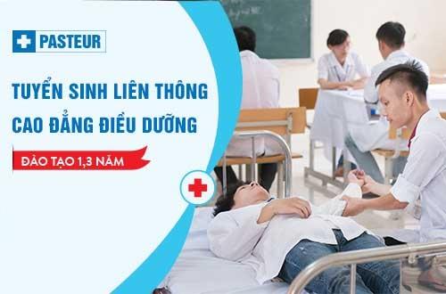 Hồ sơ tuyển sinh Liên thông Cao đẳng Điều dưỡng TP Hồ Chí Minh năm 2018