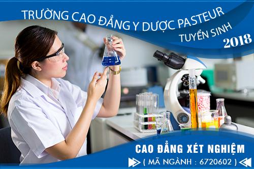 Thời gian đào tạo Cao đẳng Xét nghiệm Y tế TP.HCM