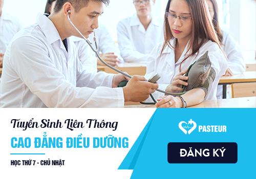 Thời gian đào tạo Liên thông Cao đẳng Điều dưỡng TP Hồ Chí Minh