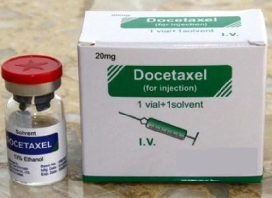 Thuốc điều trị ung thư Docetaxel nguy cơ ngộ độc ethanol