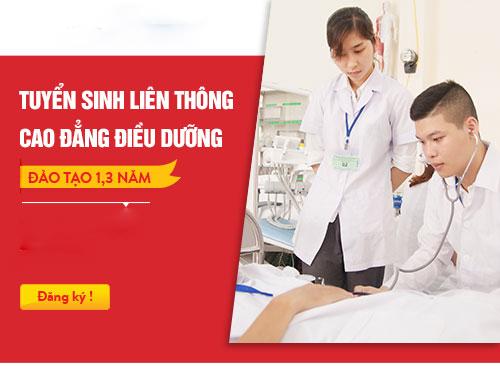 Điều kiện thi tuyển Liên thông Cao đẳng Điều dưỡng TP Hồ Chí Minh năm 2018