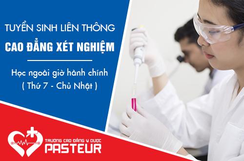 Trường Cao đẳng Y Dược Pasteur tuyển sinh Liên thông Cao đẳng Xét nghiệm Hà Nội năm 2018