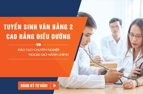 Văn bằng 2 Cao đẳng Điều dưỡng đào tạo ngoài giờ hành chính