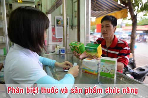 Phân biệt sản phẩm là thuốc hay thực phẩm chức năng như thế nào?