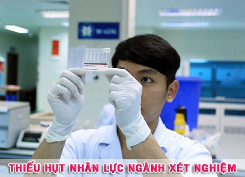 Thiếu hụt nhân lực ngành Xét nghiệm Y học