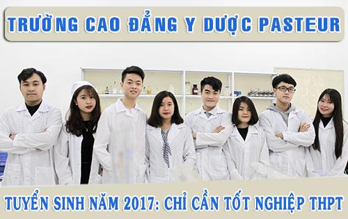 truong-cao-dang-y-duoc-pasteur-tuyen-sinh-2017