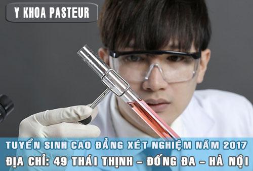 Trường Cao đẳng Y Dược Pasteur tuyển sinh Cao đẳng Xét nghiệm