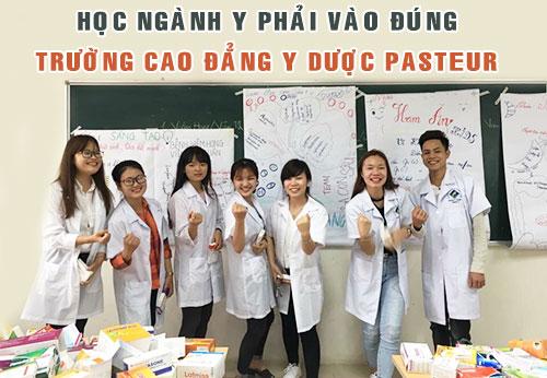 Học ngành Y Dược phải vào đúng Trường Cao đẳng Y Dược Pasteur
