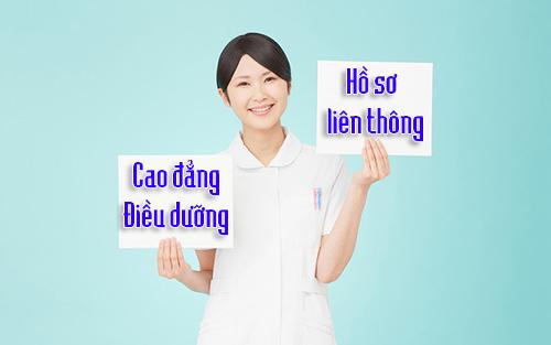 Hồ sơ tuyển sinh Liên thông Cao đẳng Điều dưỡng Hà Nội đơn giản nhất