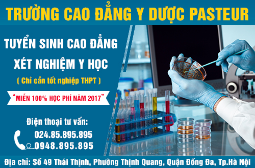 Tuyen-sinh-cao-dang-xet-nghiem-y-hoc-mien-100%-hoc-phi-nam-2017