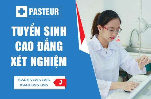 Trường Cao đẳng Y Dược Pasteur tuyển sinh Cao đẳng Xét nghiệm năm 2017