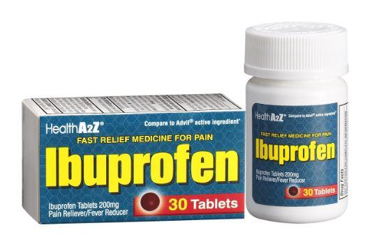 Ibuprofen - Thuốc chống viêm giảm đau hạ sốt không steroid