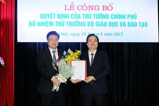 Trao quyết định bổ nhiệm 2 tân Thứ trưởng Bộ GD&ĐT