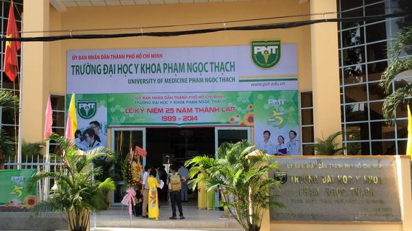 Trường ĐH Y khoa Phạm Ngọc Thạch điều chỉnh giảm chỉ tiêu, tăng học phí