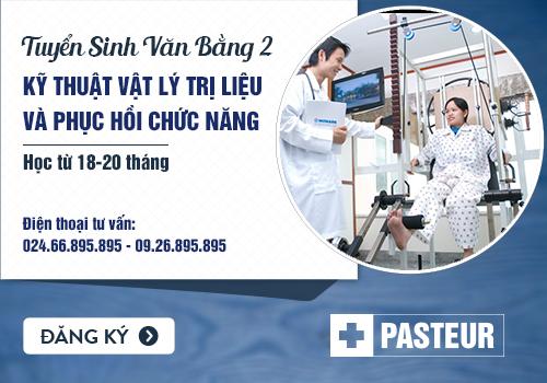 Tuyển sinh Văn bằng 2 Cao đẳng Cao đẳng Vật lý trị liệu Hà Nội